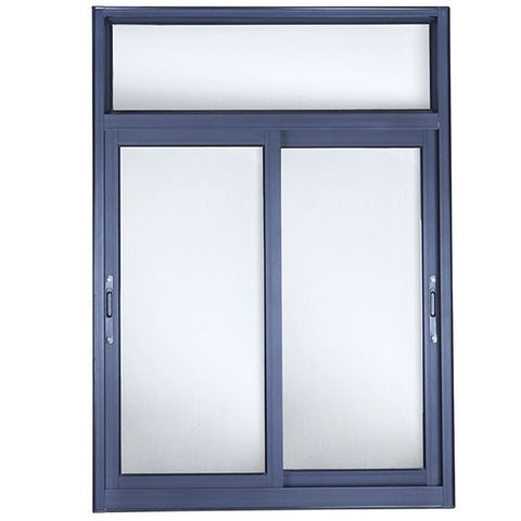 aluminium double glazed aluminum sliding window frames price factory sale on China WDMA