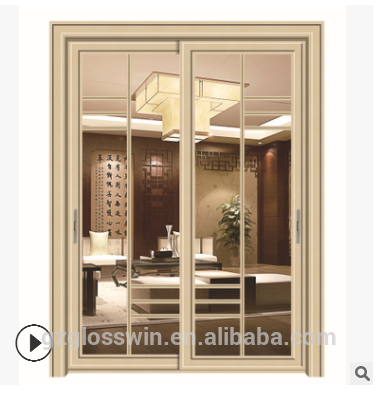 aluminium frame / vinyl /UPVC casement swing door, sliding door, glass folding door for sale on China WDMA