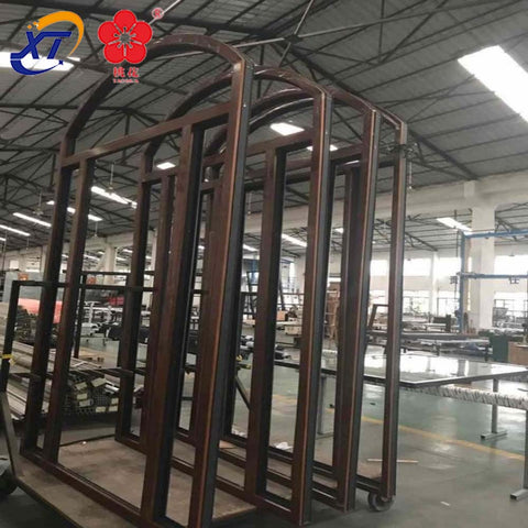aluminium glass sliding windows doors with fry screen & Aluminum frameless glass door sliding folding door on China WDMA