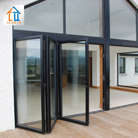 aluminium patio doors for sale vertical frame bi folding glass doors on China WDMA on China WDMA