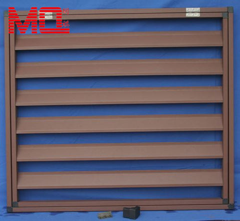 aluminium window shade jalousie windows with blinds inside on China WDMA