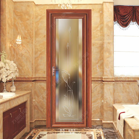 aluminum casement bathroom door on China WDMA