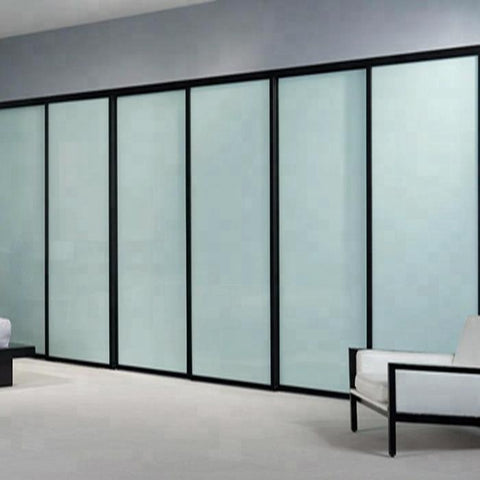 aluminum frame sliding interior glass door for bedroom on China WDMA