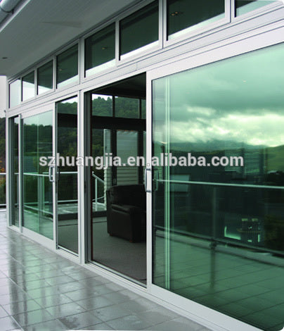 aluminum framed latest design industrial windows with insulated or tempered doors glass on China WDMA