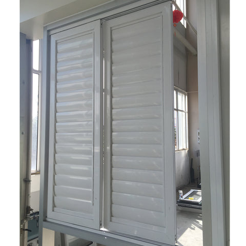 aluminum frames waterproof high security louvre windows adjustable double glazed shutter window size price on China WDMA