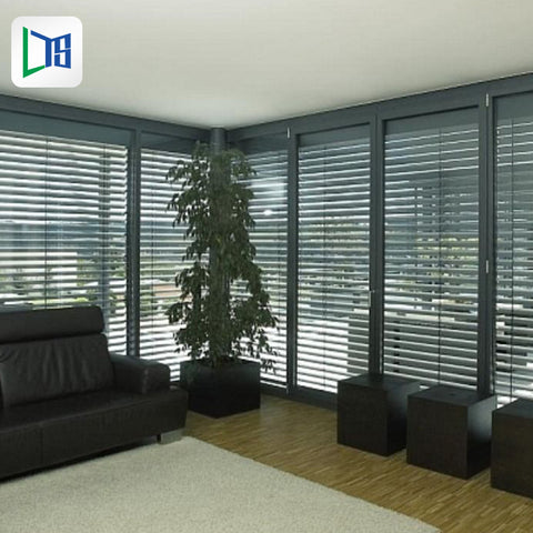 aluminum jalousie window frames waterproof metal louvre shutter windows size price on China WDMA
