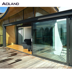 aluminum lift slide door glazed large sliding door lift and slide door on China WDMA