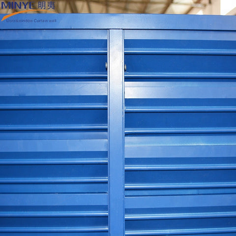 aluminum louver/shutter fixed window for basement and house on China WDMA