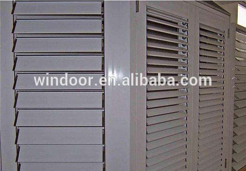 aluminum shutter window against hurricane impact on China WDMA