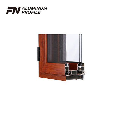 aluminum sliding glass window door frame track channel profile on China WDMA