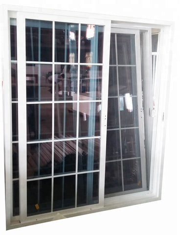 american style vinyl door big size 96 x 80 pvc exterior sliding patio door on China WDMA