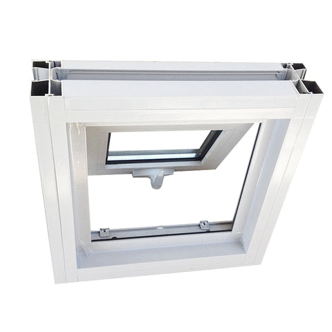 as2047 standard safety 12x36 large aluminum frame impact frosted retractable tinted triple awning glass window on China WDMA