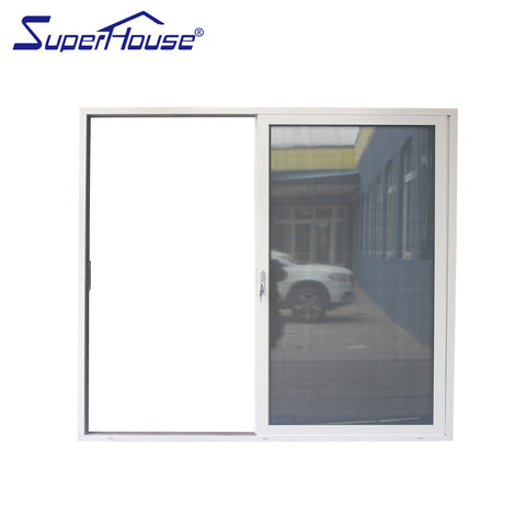 australia standard semi-automatic single sliding door aluminium frame auto sliding glass door on China WDMA on China WDMA