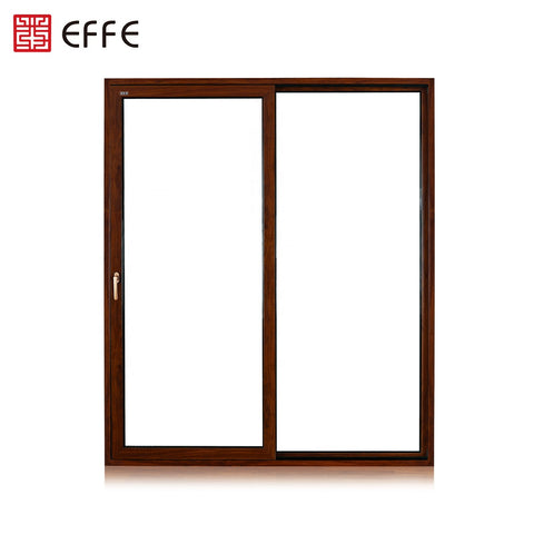 australian standard price of double pane 96*80 custom large sliding glass doors for patio on China WDMA