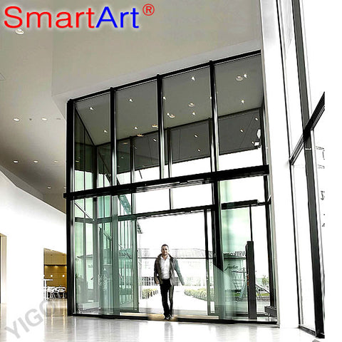 automatic sensor glass sliding door / automatic car door opening system on China WDMA