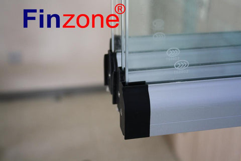 balcony glazi aluminum profile frameless sliding partition French Casement Window, Aluminium Frameless Folding Glass Windows on China WDMA