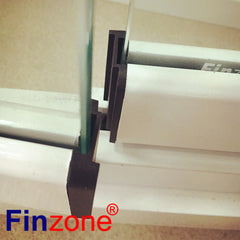 balcony glazing system glass balcony Interior design frameless glass folding door for living room on China WDMA