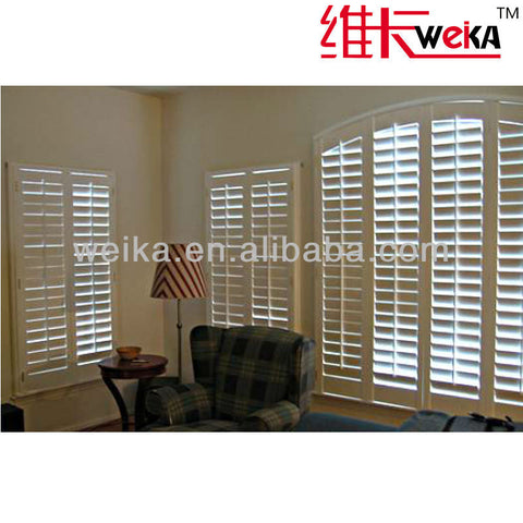 best quality french pvc jalousie windows on China WDMA