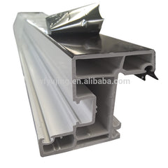 best seller window profiles with rubber upvc windows sliding doors pvc profiles with low price on China WDMA