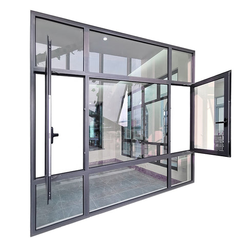 best selling aluminum casement Windows doors sale on China WDMA