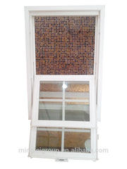 best small replacement vinyl clad sash porch upvc plastic slider window louver options 2016 on China WDMA