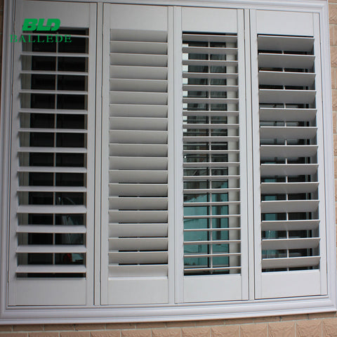 bi fold folding aluminum polycarbonate transparent commercial accordion screen shutter door on China WDMA