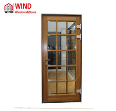 bi folding exterior bifold exterior doors double glass glazed design big window on China WDMA