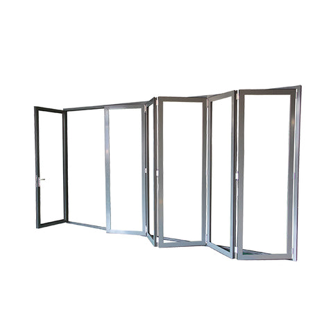 bifold closet doors / patio bifold / bi fold plexiglass door on China WDMA