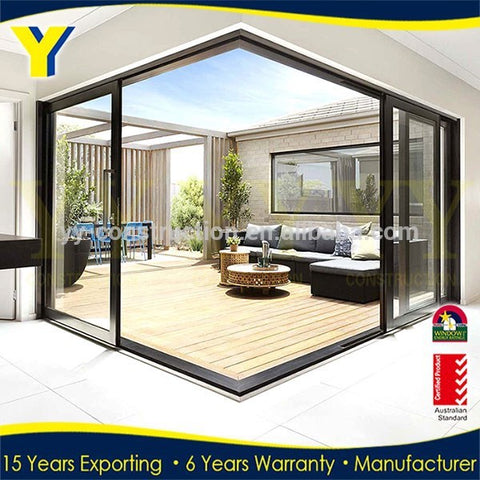 bifold garage door /48 inch doors / three panel sliding glass door on China WDMA