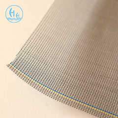 big roll Plastic coated white fiberglass invisible window insect screen on China WDMA