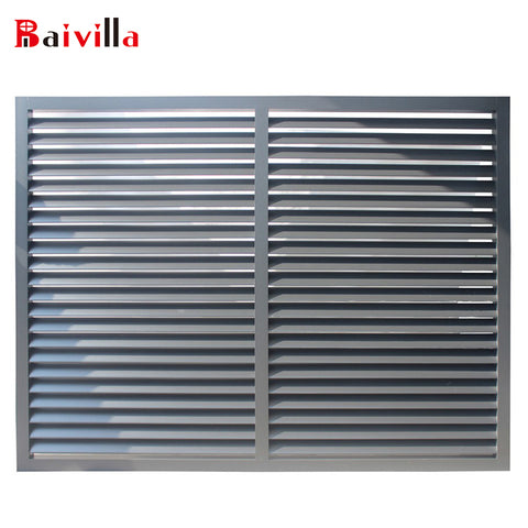 cheap house aluminum alloy sun shutter louvre windows for sale on China WDMA