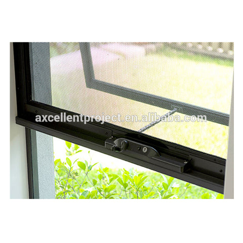 cheap house glass windows for sale aluminium framed top hung window aluminium glazed awning window on China WDMA