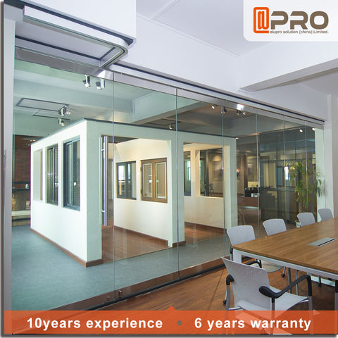 cheap interior folding doors frameless glass sliding folding doors or lowes glass interior folding doors on China WDMA