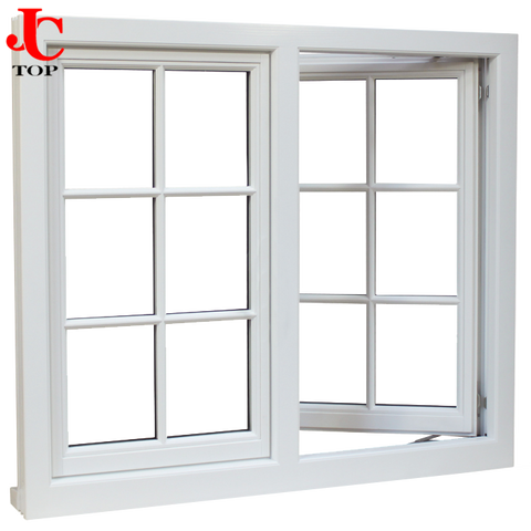 cheap price upvc profile with blinds in built for upvc double glass casement windows on China WDMA