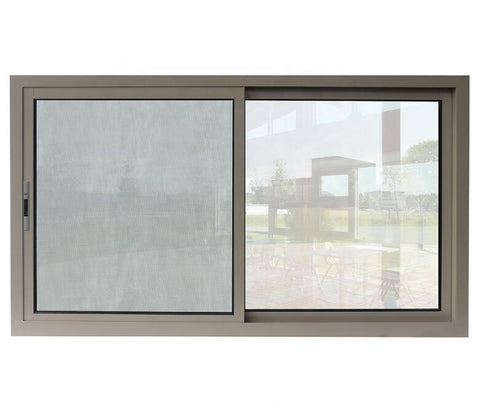 china top supplier cheap house window for sale kitchen horizontal double tempered glass sliding window aluminium frame on China WDMA