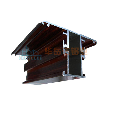 commercial extruded aluminum profile sliding window frames price on China WDMA
