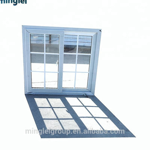 commercial frosted bathroom glass plastic vinyl upvc sliding window designs for homes on China WDMA