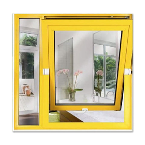 cost-effective pvc french window design Professional safe durable glass pvc casement window with mosquito screen on China WDMA