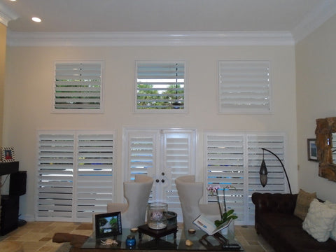 custom made PVC window plantation shutter windows for house on China WDMA