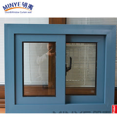 custom size for toilets aluminum profile roller bearing living room sliding window on China WDMA