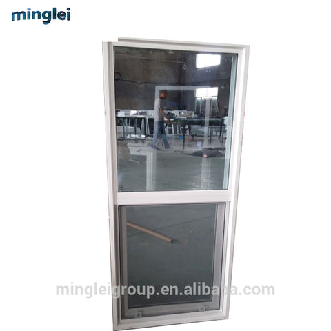 double glazed casement replacement vinyl clad sash porch upvc plastic slider shutter window louver price on China WDMA