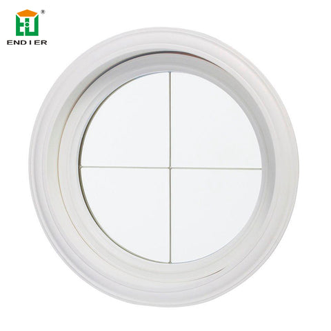 double glazed fixed round window glass circular aluminum round windows that open on China WDMA