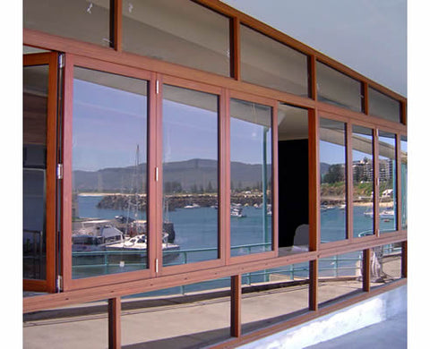 double glazed semi-automatic aluminum sliding door and windows drawing on China WDMA