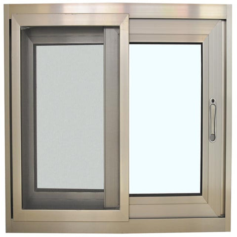 double glazed tempered glass aluminum sliding window aluminum framed double glazed sliding window/kitchen aluminium windows on China WDMA