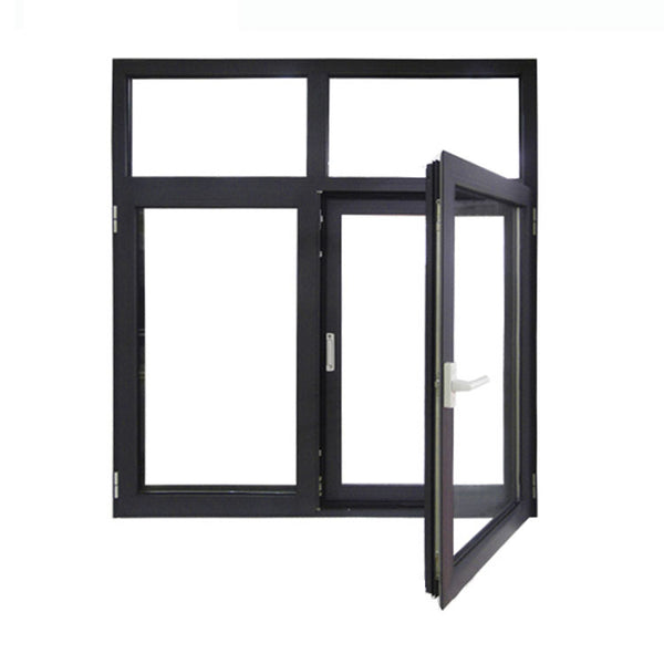 elegant aluminum frame louver windows glass casement window with interior blinds