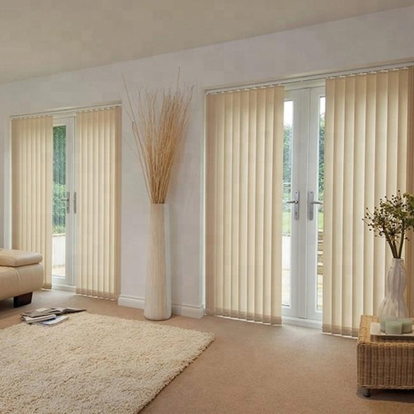 elegant center open vertical blinds for bifold door on China WDMA