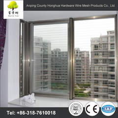 environmental invisible window screens electric window mosquito net fiberglass material for sliding windows on China WDMA