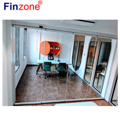 exterior aluminium door aluminium glass door price in india aluminium front double door on China WDMA