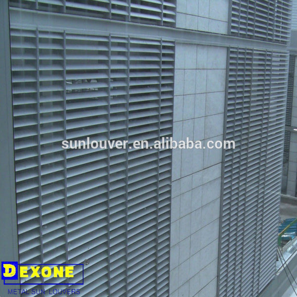 exterior aluminum metal louver for wall and window on China WDMA