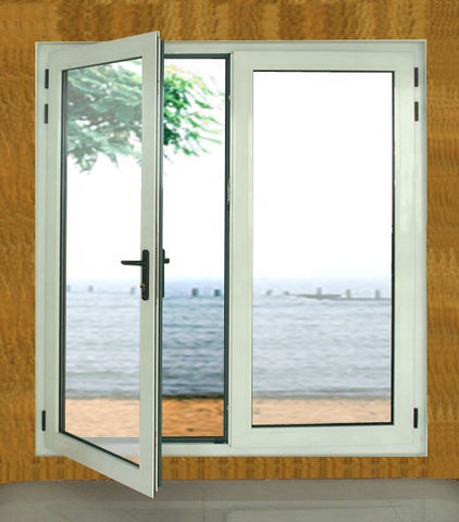 exterior door with opening window soundproofing materials for windows pvc double hung casement windows on China WDMA